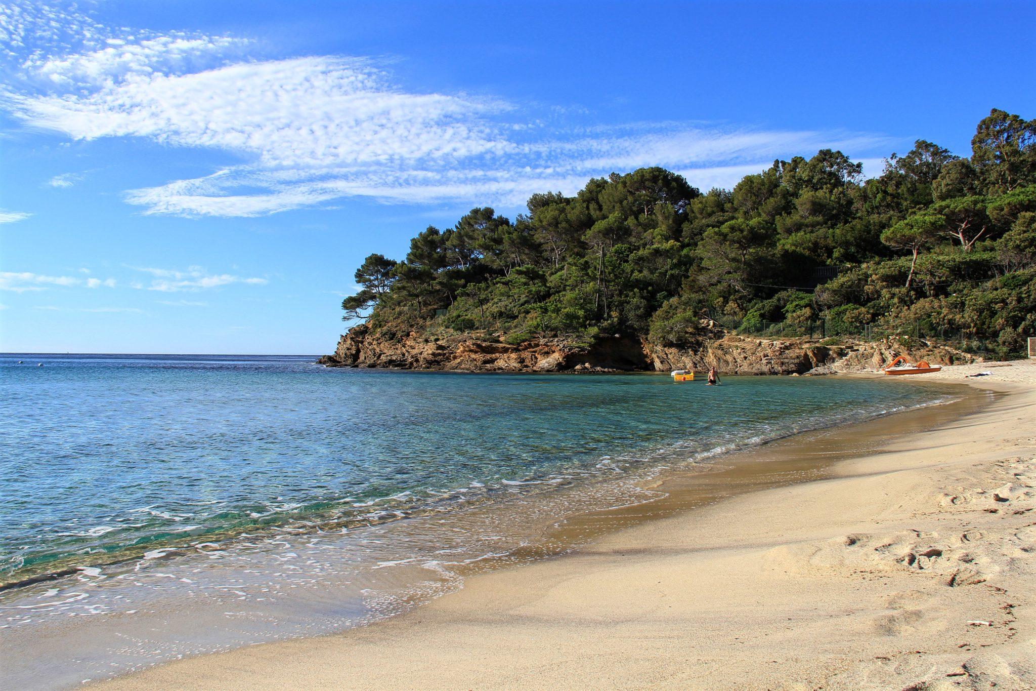 La plage de Pramousquier