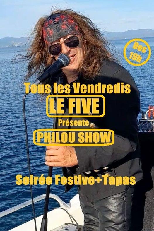 5 Beach – Philou show
