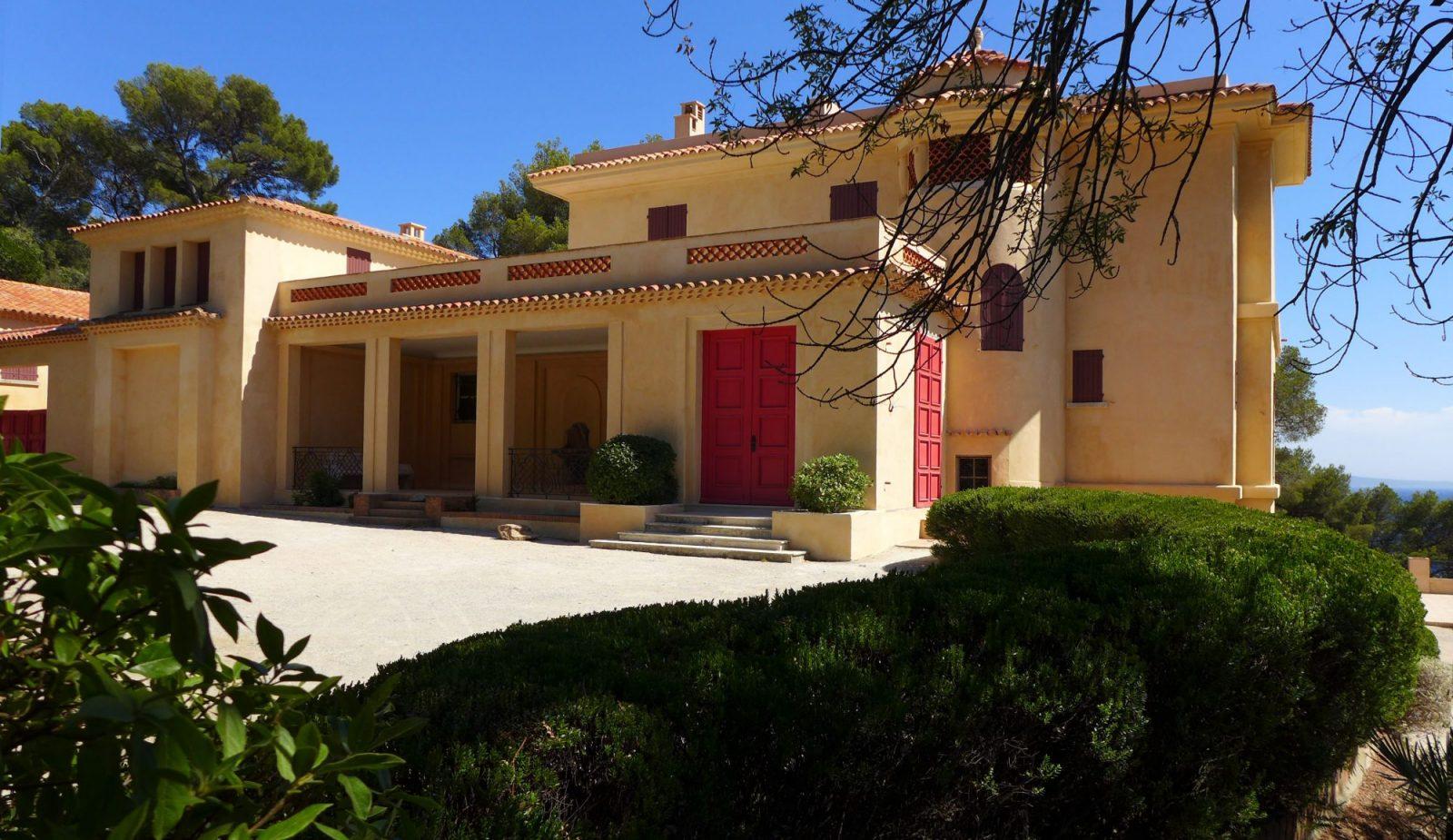 Villa Rayolet restaurée