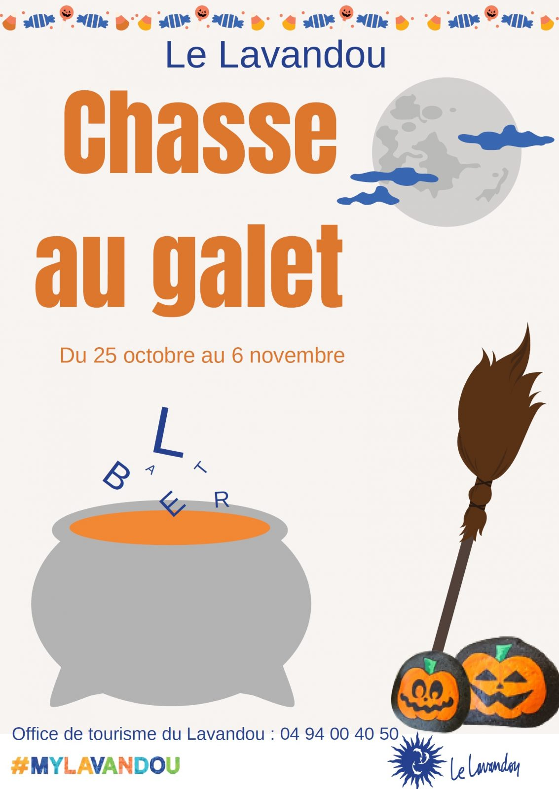 Chasse au galet