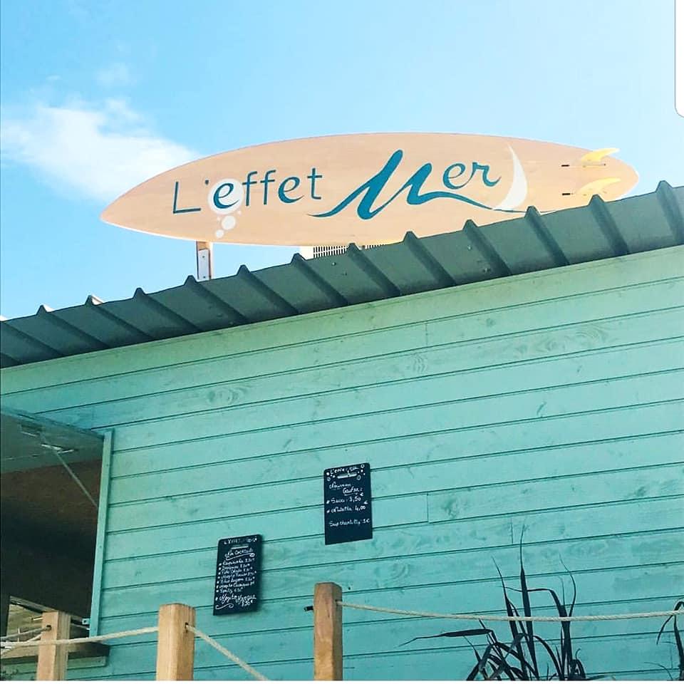 Restaurant de plage l'Effet Mer