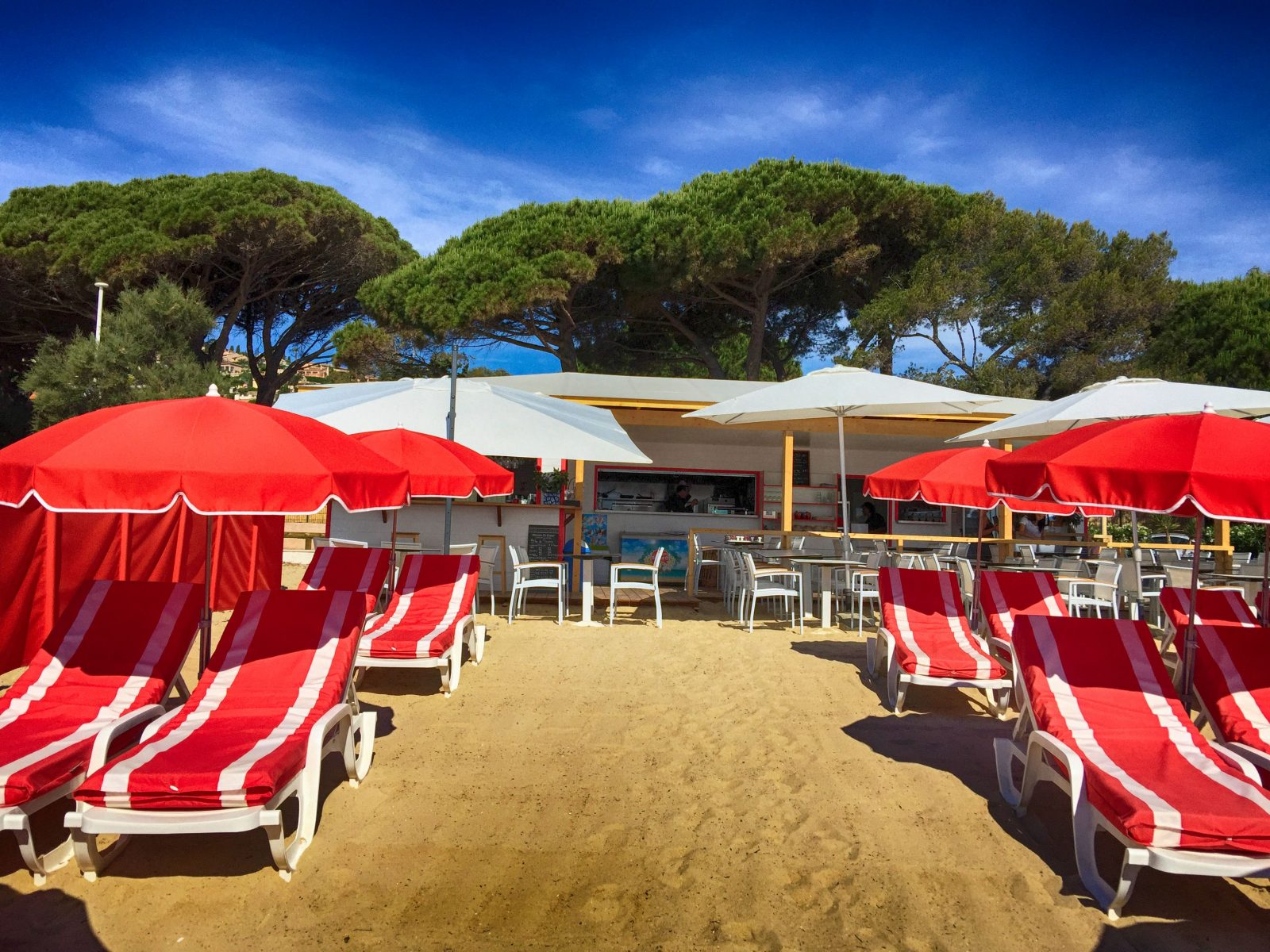 Restaurant de plage 5 Beach Saint Clair