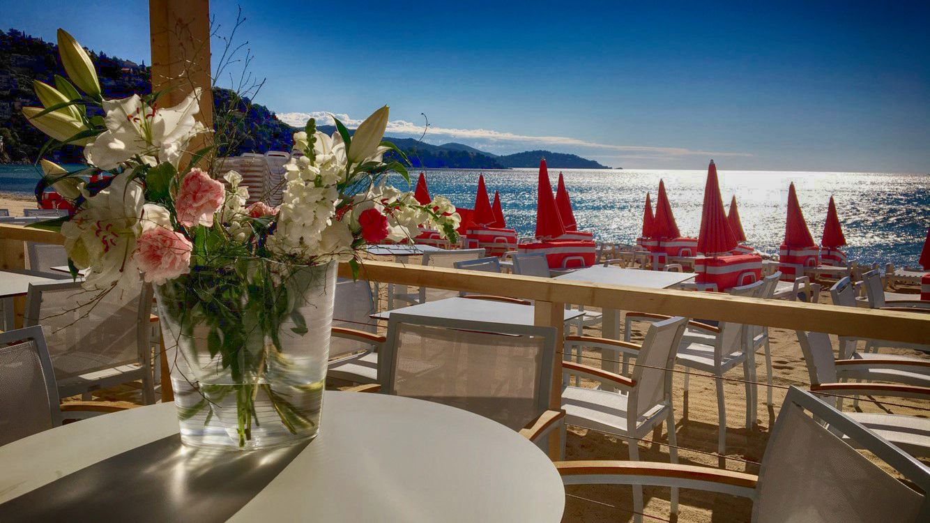 Restaurant de plage 5 Beach Saint Clair