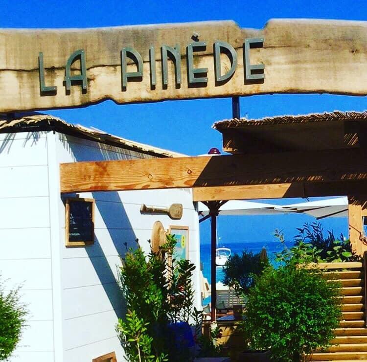 Plage la Pinède Saint-Clair Lavandou