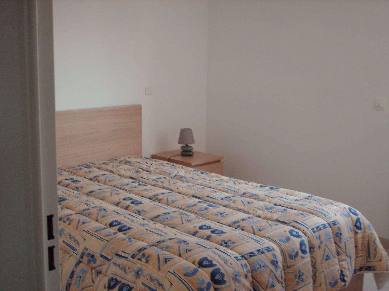 Une des chambres de la location