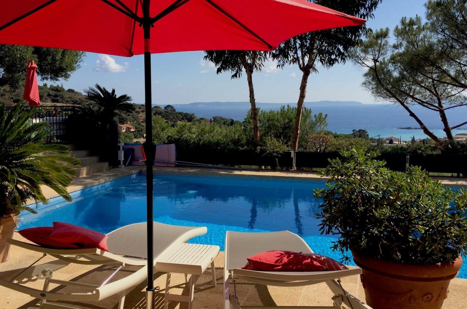 Piscine Villa Thalassa chambre d'hôte