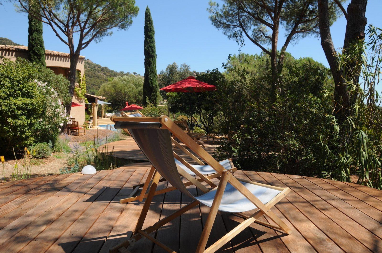Terrasse1 Villa Thalassa chambre d'hôte