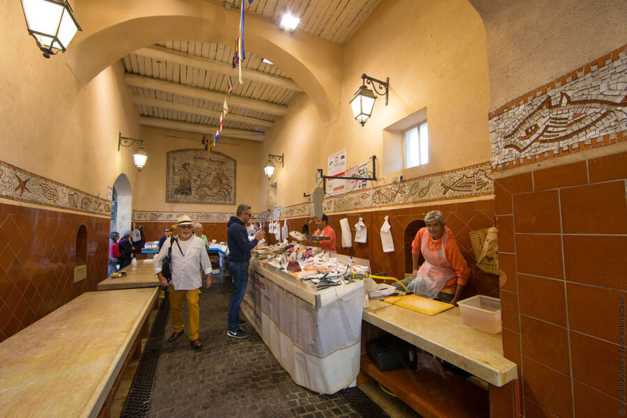 Marché aux poissons – St-Tropez